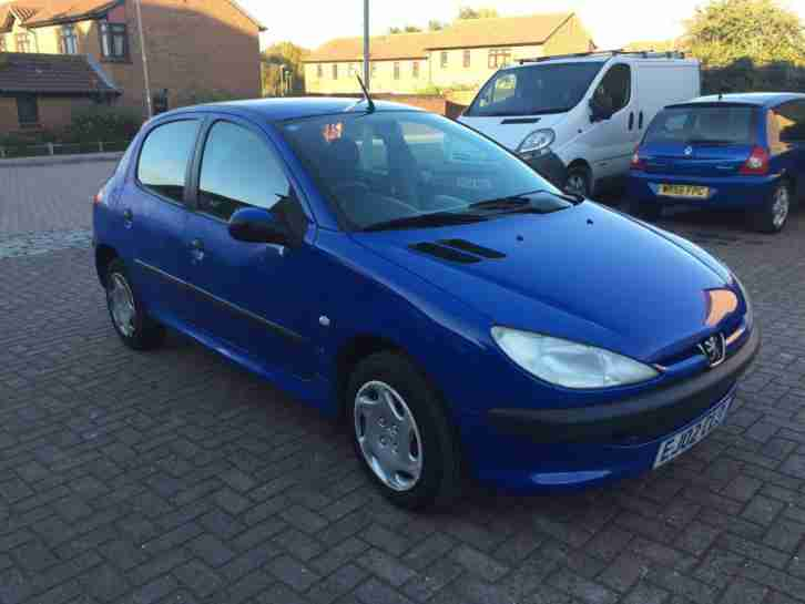2002 Peugeot 206 1.4 ( a/c )MY LX + 07 Stamps, Very Low Mileage.