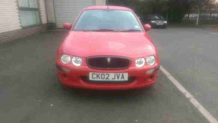 2002 ROVER 25 IMPRESSION 2 RED