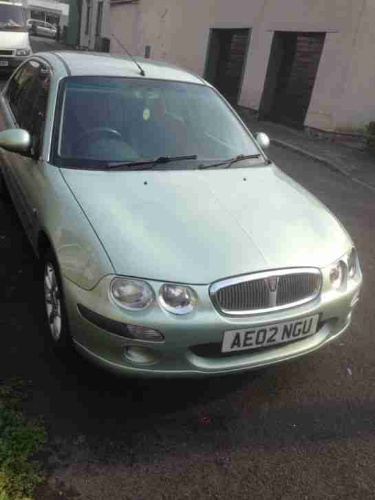 2002 ROVER 25 IMPRESSION S2 GREEN