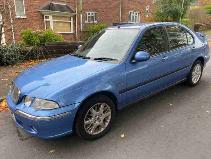 2002 ROVER 45 1.4 IMPRESSION S 42K MILES LONG MOT AIRCON CHEAP HATCHBACK MG