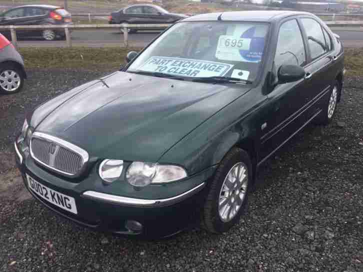 Rover 45. Rover car from United Kingdom
