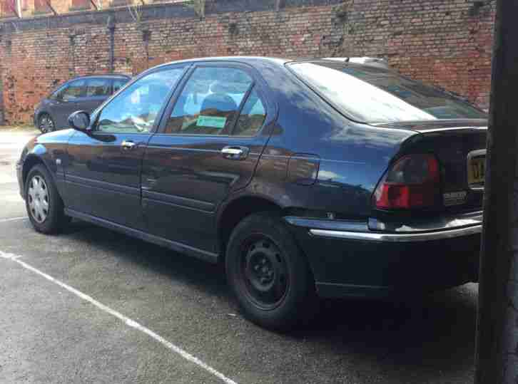 2002 ROVER 45 IE 2LTR TURBO DIESEL GREY (BROKEN, SEE DETAILS)