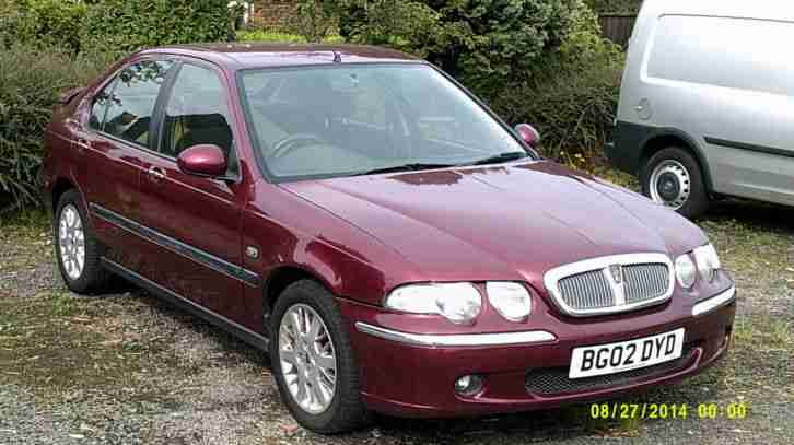 2002 ROVER 45 IMPRESSION S2 CVT RED
