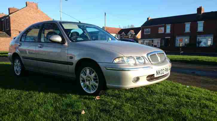 2002 ROVER 45 IMPRESSION S2 SILVER very low milage p/x or swap ;-)