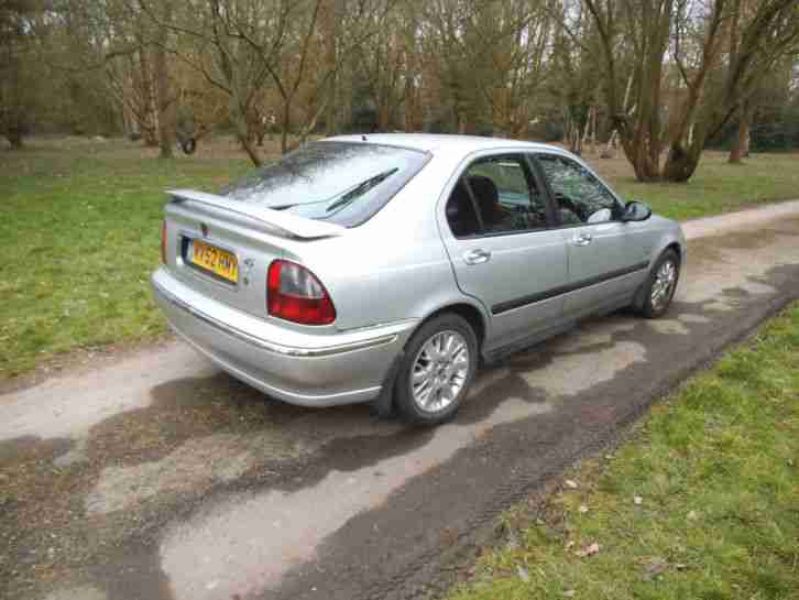 2002 ROVER 45 SPIRIT S SILVER spares or repairs