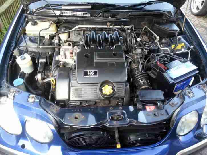 Rover 2002 45 V6 CONNOISSEUR 24V AUTO BLUE. car for sale