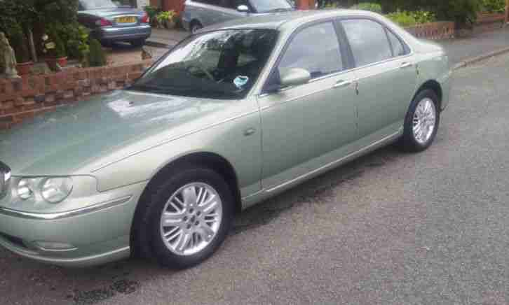 2002 ROVER 75 CLUB SE GREEN