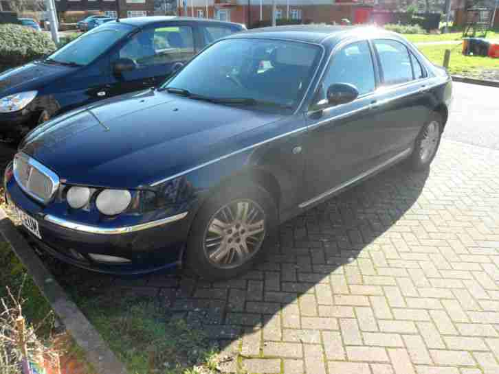 2002 ROVER 75 CLUB SE T BLUE