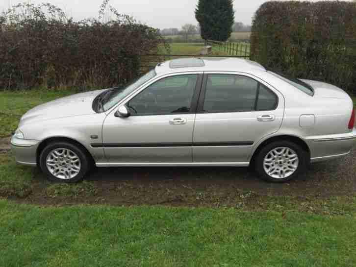 Rover 2002 45 1.8 Connoisseur 4dr. car for sale