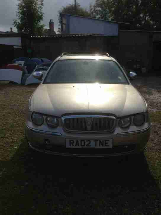 2002 Rover 75 Tourer 2.0 CDT 1950cc auto Connoisseur SE spares or repair