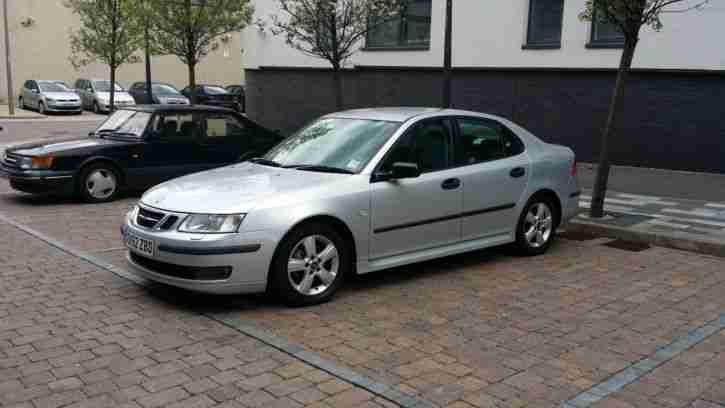 2002 SAAB 9-3 VECTOR 1.8 turbo 150 BHP SEMI-AUTO SILVER