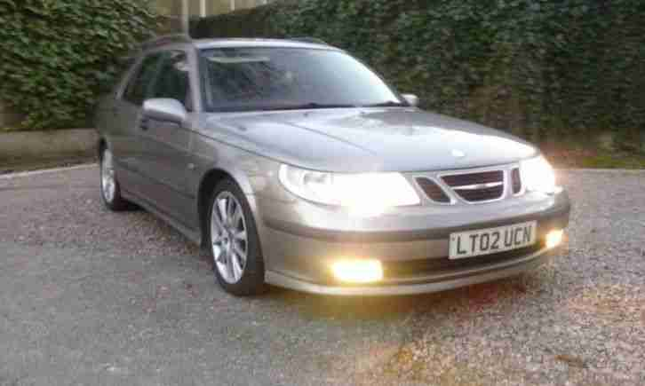 2002 SAAB 9-5 2.3T 250 HOT AERO AUTO ESTATE, LEATHER, 118000 MILES.