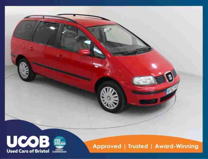 Seat ALHAMBRA. Seat car from United Kingdom