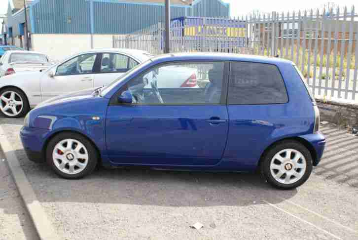 seat 2002 arosa 16v sport blue car for sale. Black Bedroom Furniture Sets. Home Design Ideas