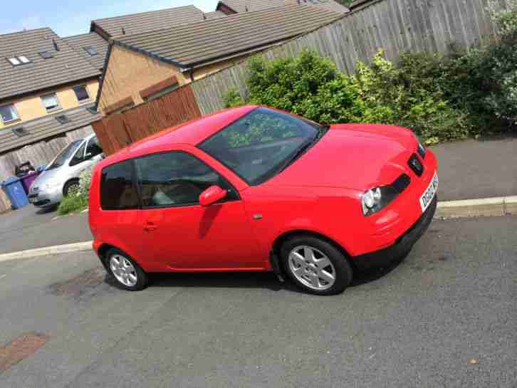seat 2002 arosa red car for sale. Black Bedroom Furniture Sets. Home Design Ideas