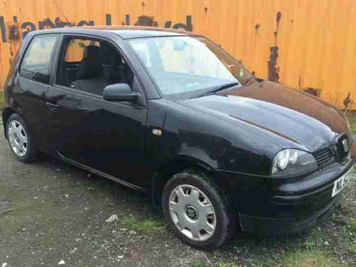 2002 AROSA S BLACK (SAME AS VW LUPO)