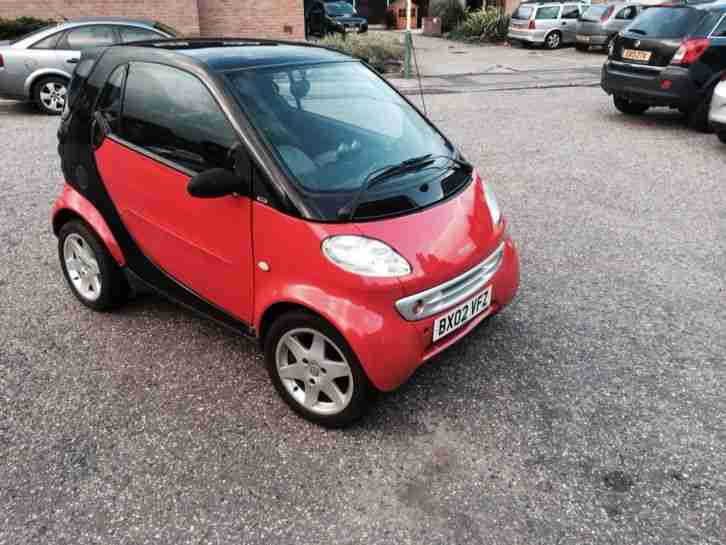 2002 SMART CITY PULSE 50 AUTO BLACK