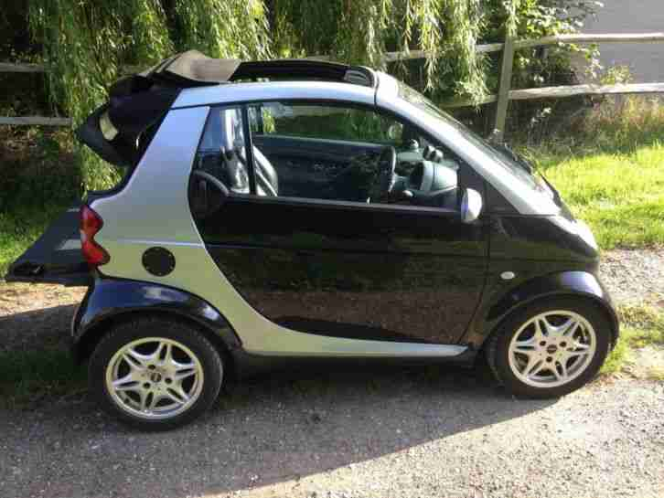 Smart 2002 Mcc Pure Softouch Rhd Black Car For Sale