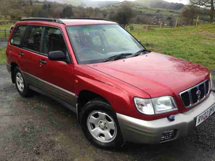Subaru 2002 forester 2 0 4wd awd all weather auto estate p for Subaru forester paint job cost