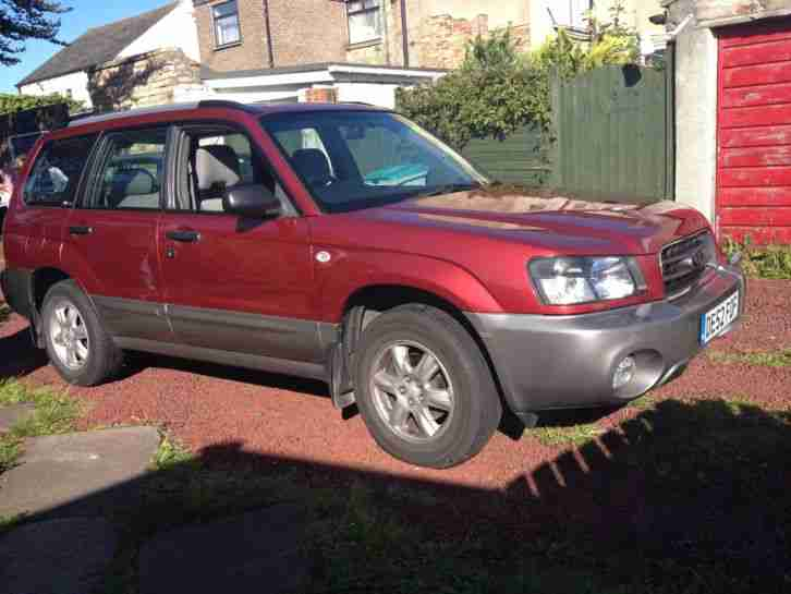 Subaru 2002 forester 2 0x 4x4 all weather car for sale for Subaru forester paint job cost