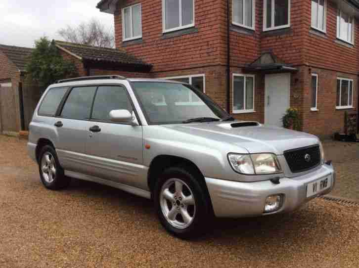 Subaru 2002 forester s turbo awd auto silver car for sale for Subaru forester paint job cost