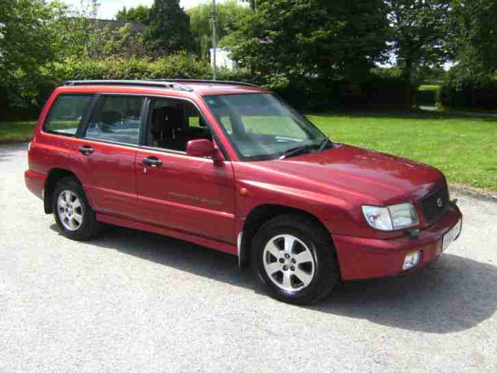 subaru 2002 forester sport in metallic red one owner car for sale. Black Bedroom Furniture Sets. Home Design Ideas
