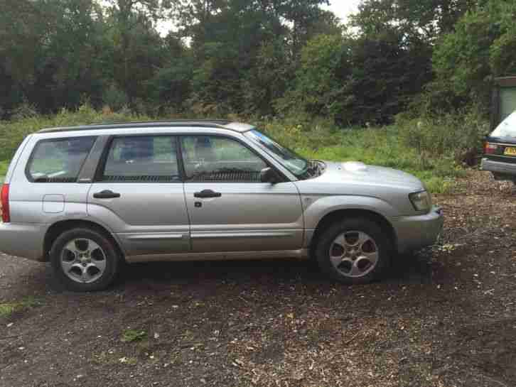subaru 2002 forester xt turbo spares repair project car for sale. Black Bedroom Furniture Sets. Home Design Ideas