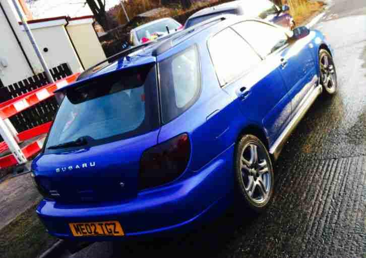 2002 subaru impreza wrx manual wagon