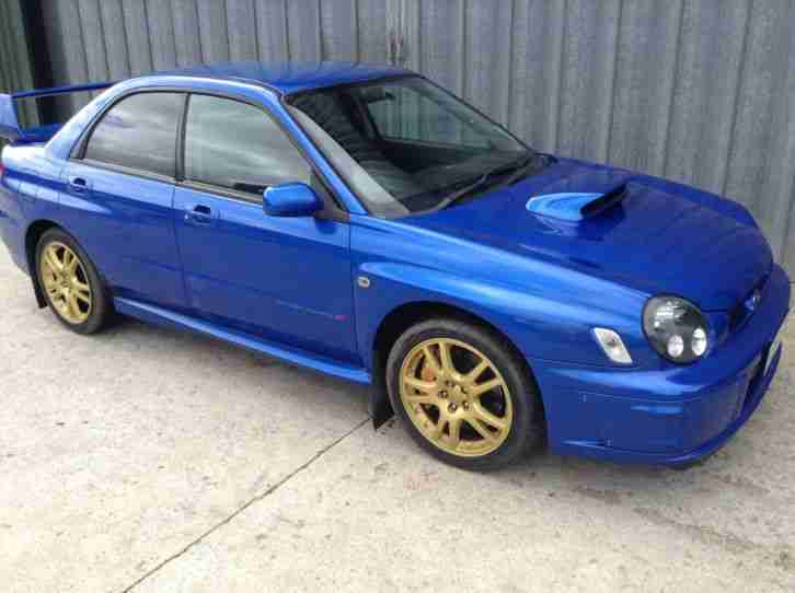 Subaru 2002 IMPREZA WRX STI PRODRIVE BLUE UK EDITION. car for sale
