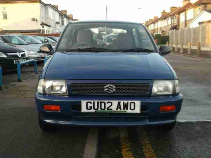 2002 SUZUKI ALTO 1.0 GL 3DR, 45,000 MILES FROM NEW, 1 YEARS M.O.T