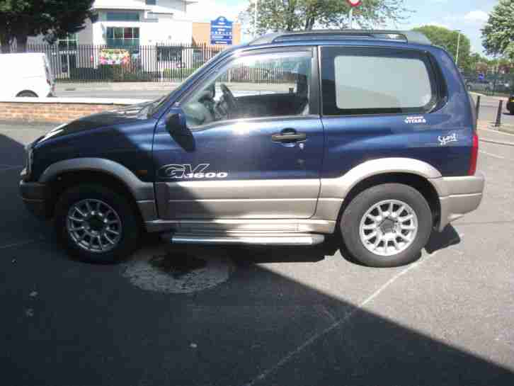 suzuki 2002 grand vitara 16v se blue car for sale. Black Bedroom Furniture Sets. Home Design Ideas