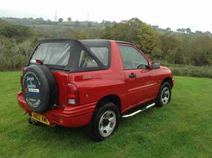 suzuki 2002 grand vitara 16v sport convertible car for sale. Black Bedroom Furniture Sets. Home Design Ideas