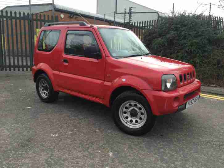 2002 SUZUKI JIMNY JLX RED RECENT SERVICE 4X4 GOOD MOT OFF ROADER GOOD RUNNER PX