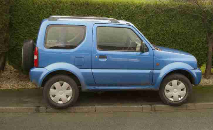2002 SUZUKI JIMNY JLX in Metallic Blue