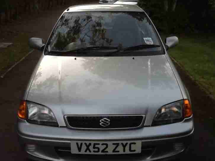 2002 SWIFT GLS SILVER
