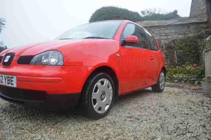 seat 2002 arosa 1 0 red car for sale. Black Bedroom Furniture Sets. Home Design Ideas