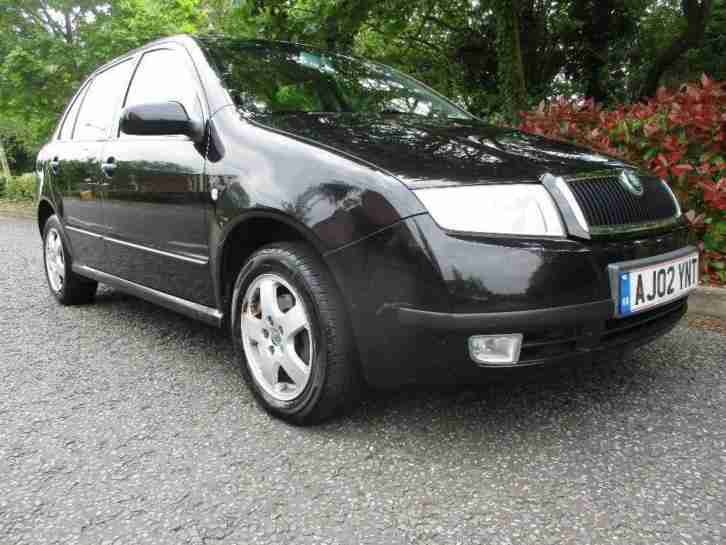 skoda 2002 fabia 1 9 tdi elegance 5dr car for sale. Black Bedroom Furniture Sets. Home Design Ideas