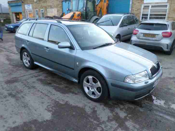 2002 Skoda Octavia Estate 1.9 TDi