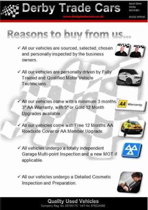 Derby Trade Cars Ascot Drive