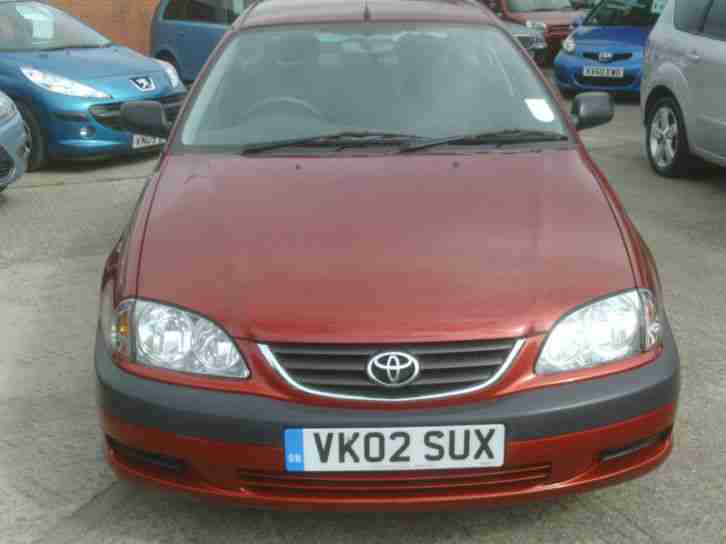 2002 Toyota Avensis 1.8 VVT-i GS 5 Door.Lava Red,ONLY 52000 rm