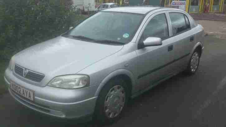 2002 VAUXHALL ASTRA LS 16V SILVER