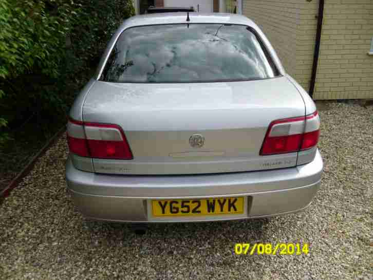2002 VAUXHALL OMEGA CD SILVER