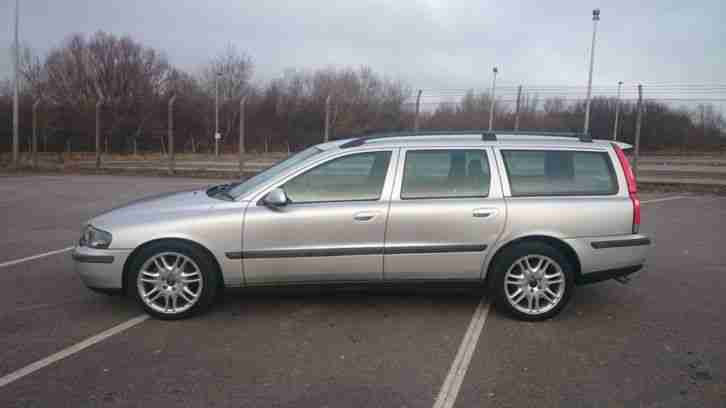 Volvo 2002 v70 d5 full leather cruise service history manual car for sale for Volvo v70 leather interior for sale