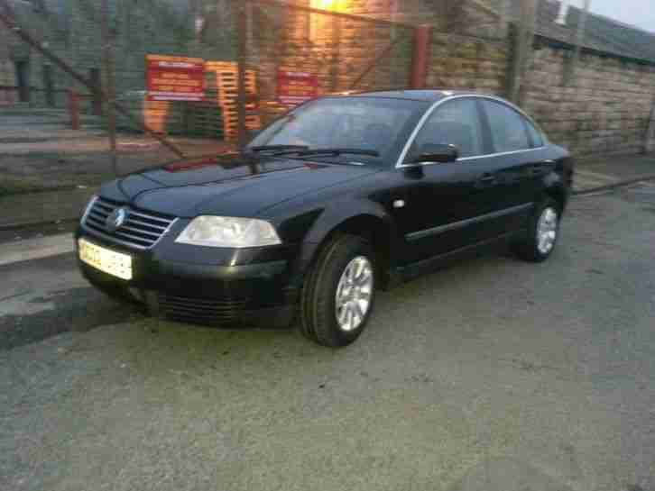 2002 vw passat 1 9 tdi 52 black car for sale. Black Bedroom Furniture Sets. Home Design Ideas