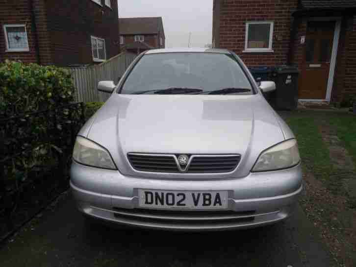 2002 vauxhall astra 1 6 16v spares repair car for sale. Black Bedroom Furniture Sets. Home Design Ideas