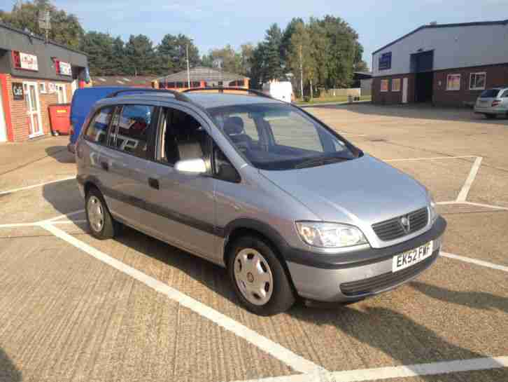 2002 vauxhall zafira 2 0tdi car for sale. Black Bedroom Furniture Sets. Home Design Ideas
