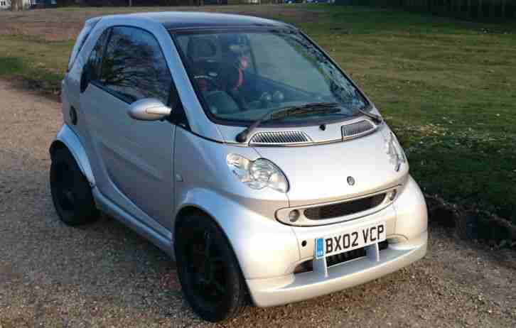 Smart Fourtwo. Smart car from United Kingdom