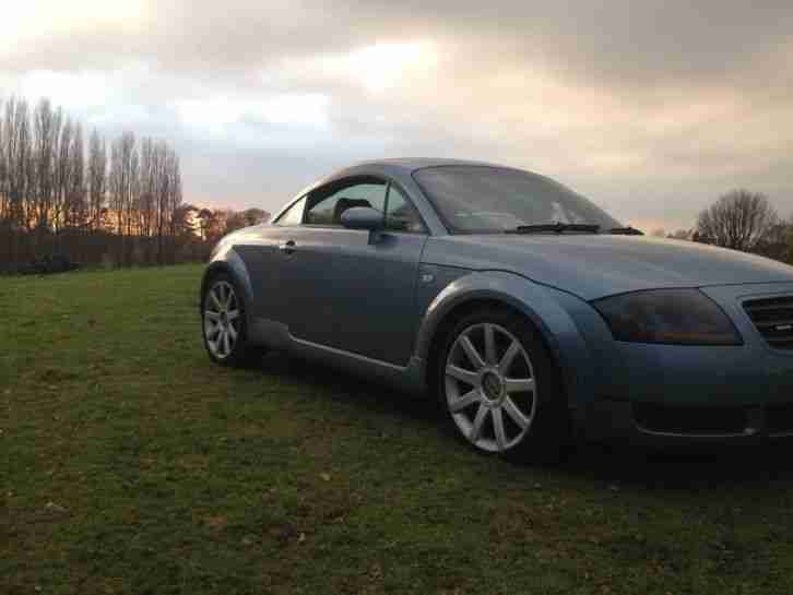 2003 03 audi tt quattro 180 bhp blue lovely car no reserve car for sale. Black Bedroom Furniture Sets. Home Design Ideas