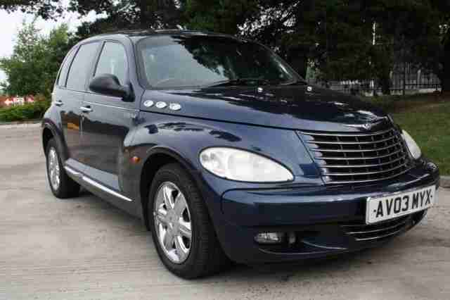 chrysler 2003 03 pt cruiser 2 1 crd limited 5d 119 bhp. Black Bedroom Furniture Sets. Home Design Ideas