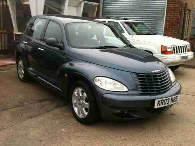 chrysler 2003 03 pt cruiser 2 2 crd turbo diesel touring. Black Bedroom Furniture Sets. Home Design Ideas